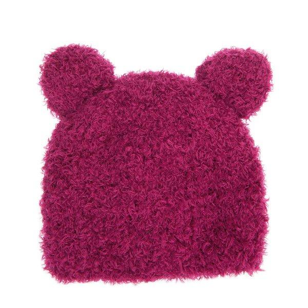 Rico Design Strickset Mütze Katze beere