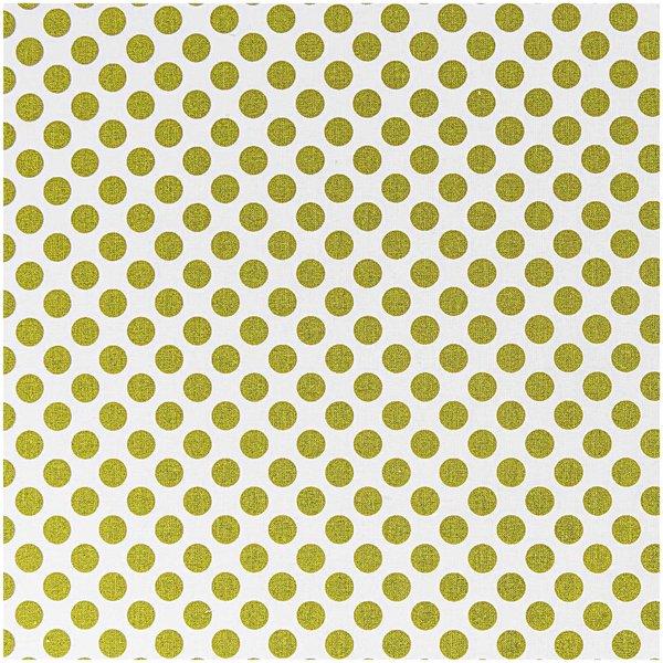 Stoff Punkte olivgrün 50x160cm