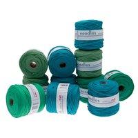 noodles Textilgarn Grüntöne ca. 500-700g