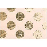 Paper Poetry Seidenpapier natur Punkte gold 70x50cm 4 Bogen Hot Foil