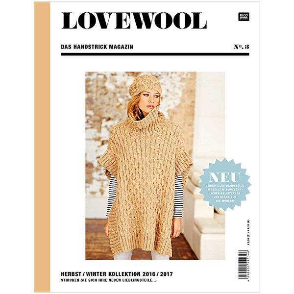 Rico Design Lovewool Nr.3 Handstrickmagazin Herbst-Winter 2016-2017
