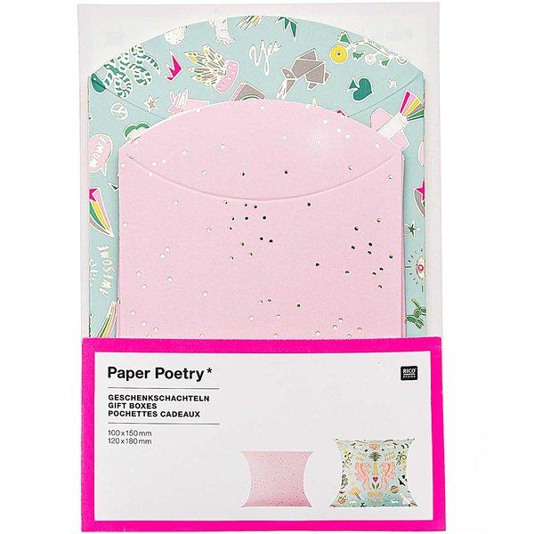 Paper Poetry Geschenkschachteln Wonderland 6 Stück