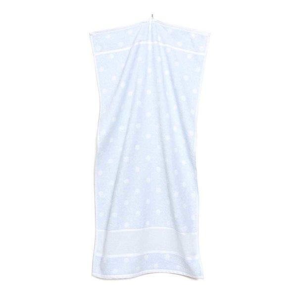 Rico Design Handtuch mit weißen Punkten 50x100cm