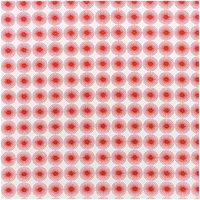 Rico Design Stoff Rosette rot 50x140cm