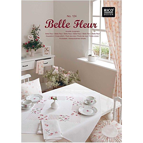 Rico Design Stickbuch Belle Fleur Nr.124