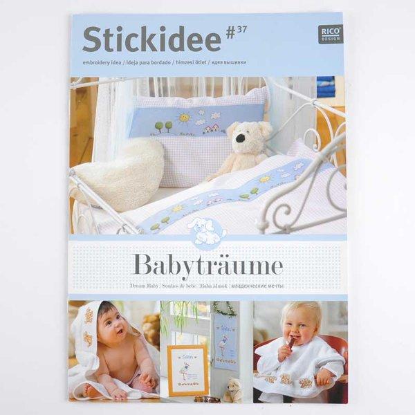 Rico Design Stick-Idee Nr.37 Babyträume