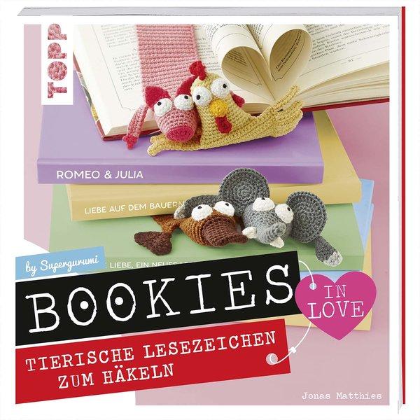 TOPP Bookies in Love - Tierische Lesezeichen zum Häkeln