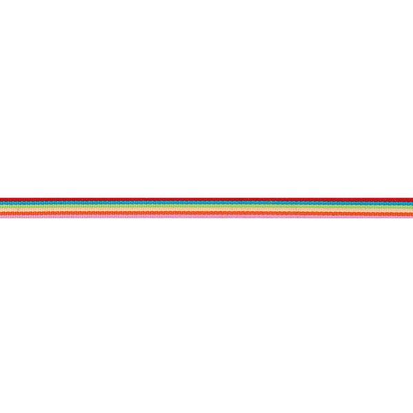 Rico Design Ribbon Streifen mehrfarbig basic 2m