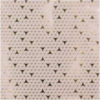 Paper Poetry Geschenkpapier graphisch natur-gold 70cm 2m Hot Foil