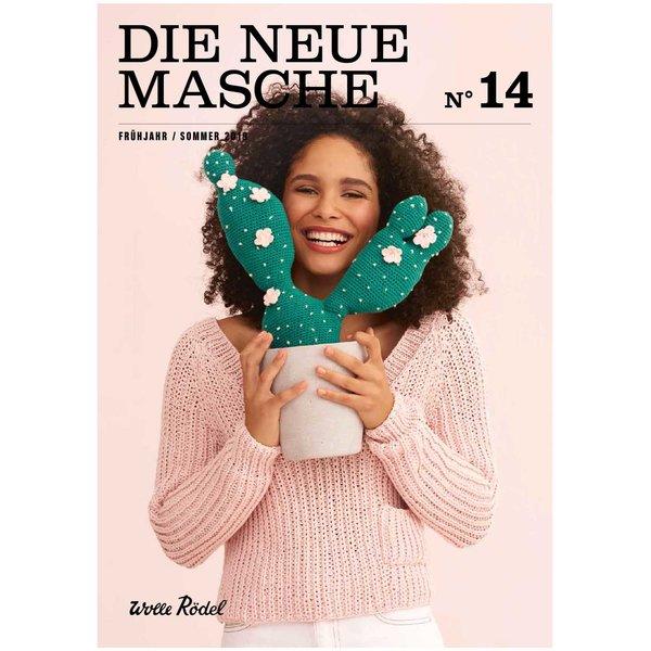 Wolle Rödel DIE NEUE MASCHE Nr. 14 Frühjahr-Sommer 2019 Anleitungen