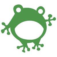 Rico Design Appliqué Frosch grün 4,4x3,9cm