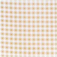 Rico Design Stoff Rosette gold 50x140cm