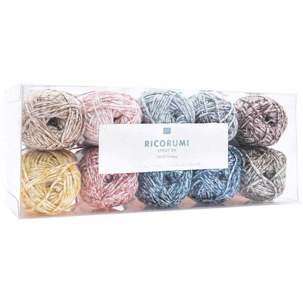 Rico Design Creative Ricorumi Spray dk Set 10 Farben 25g