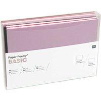 Paper Poetry Kartenset Basic B6 36teilig