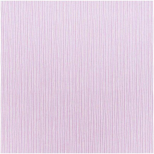 Rico Design Stoff Streifen violett 160cm