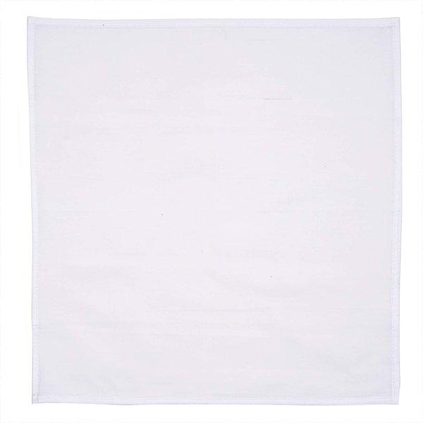 Rico Design Tischdecke weiß 75x75cm