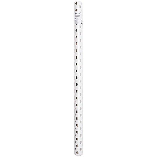 Paper Poetry Geschenkpapier Punkte weiß-silber 70cm 2m Hot Foil