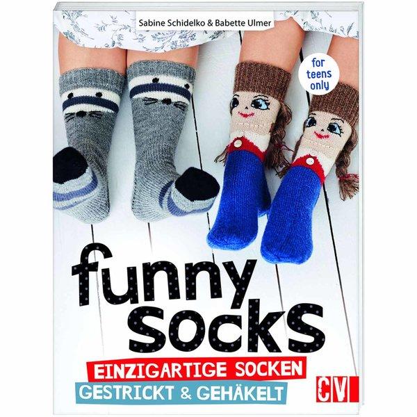 Christophorus Verlag funny socks: einzigartige Socken gestrickt & gehäkelt