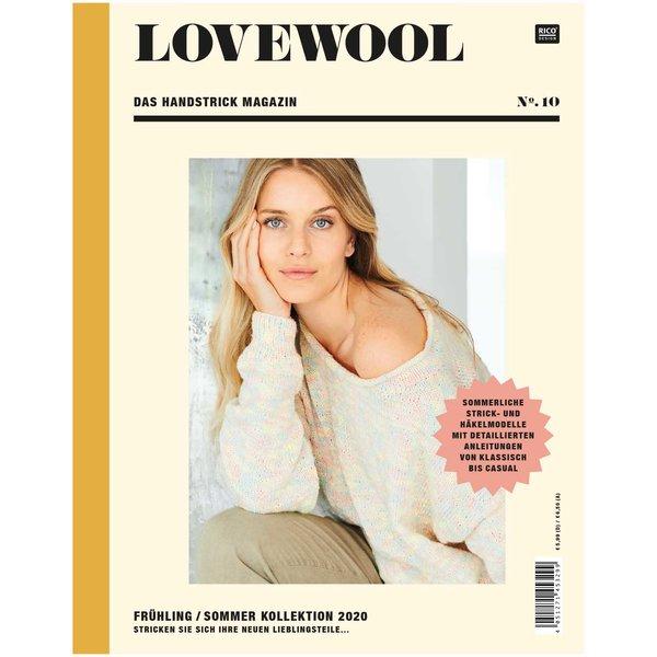Rico Design Lovewool Nr.10 Handstrickmagazin Frühjahr-Sommer 2020