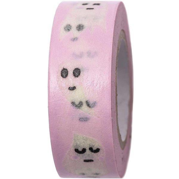 Paper Poetry Tape Gespenster rosa 15mm 10m