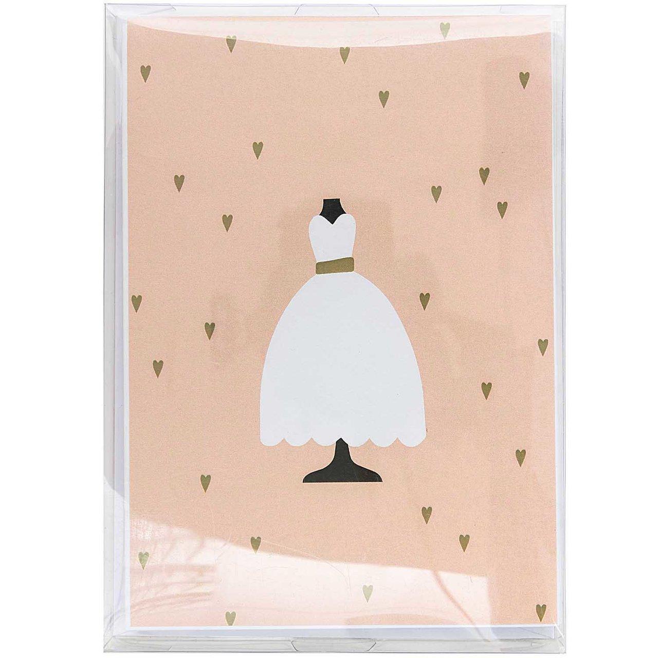 Paper Poetry Kartenset Brautkleid 20teilig