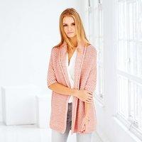 Strickanleitung Schalkragenjacke aus Fashion Jersey