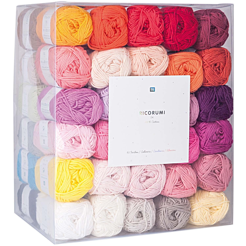 20 % Rabatt auf Ricorumi dk Set 60 Farben