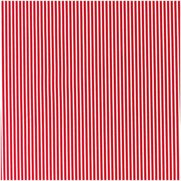 Rico Design Stoff rot-weiß gestreift 160cm