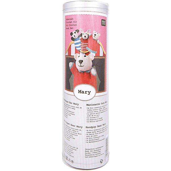 Rico Design Häkelset Handpuppe Bär Mary