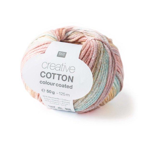 Rico Design Creative Cotton Colour Coated 50g 125m
