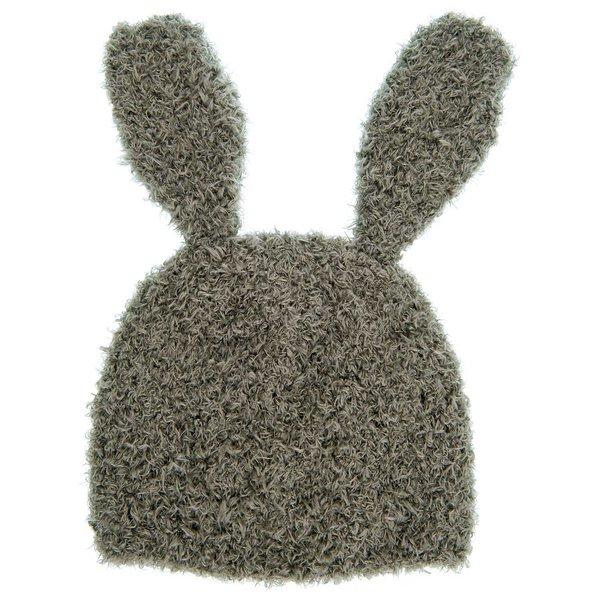 Rico Design Strickset Mütze Hase grau