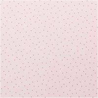 Rico Design Jerseystoff Punkte rosa-metallic 70x100cm