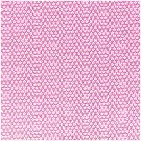 Rico Design Stoff Blümchen pink-weiß 160cm