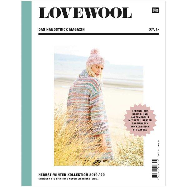 Rico Design Lovewool Nr.9 Handstrickmagazin Herbst-Winter 2019