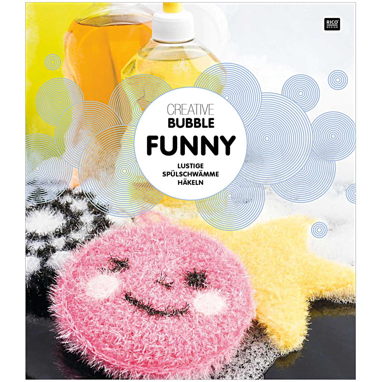 Rico Design Creative Bubble Funny - lustige Spülschwämme häkeln ...