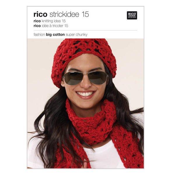 Rico Design Strickidee Nr.15 Fashion Big Cotton super chunky