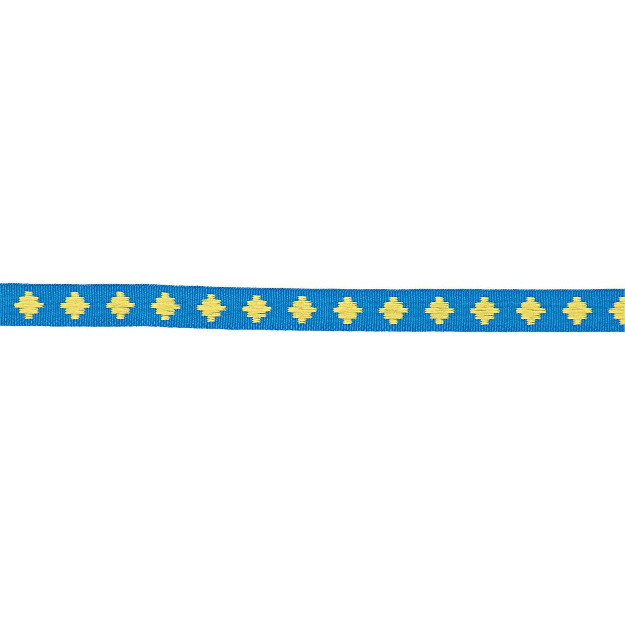 Made by Me Ribbon Rauten blau 2m