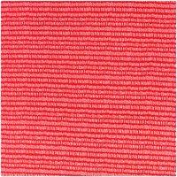 Rico Design Stoff Jersey Striche rot-weiß 70x100cm