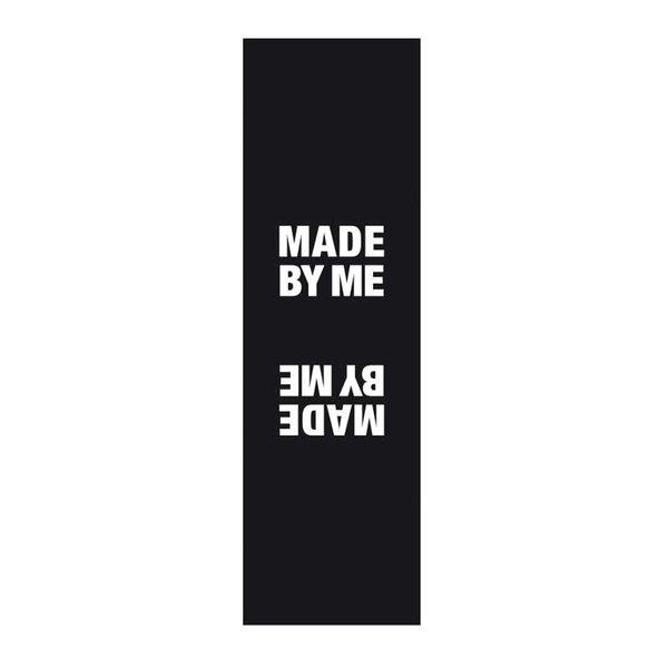 Rico Design Webetiketten außen made by me schwarz 2x8cm 3 Stück