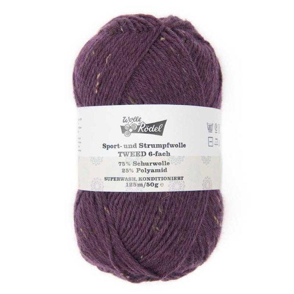 Wolle Rödel Strumpfwolle Tweed 6fädig 50g 125m