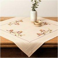 Rico Design Stickpackung Decke Eulen 80x80cm