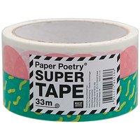 Paper Poetry Paketklebeband 90er grün 5cm 33m