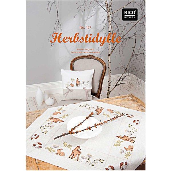 Rico Design Stickbuch Herbstidylle Nr.127