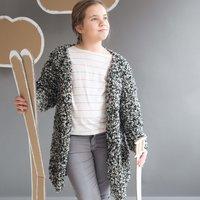 Strickanleitung Kindermantel aus Fashion Inuit