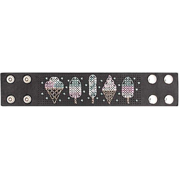 Jewellery Made by Me Armband zum Besticken Set Eistüte 23,5x4,5cm ...