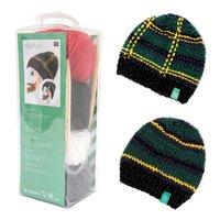 Rico Design Strickset Mütze Wild Wild Wool tanne-mehrfarbig