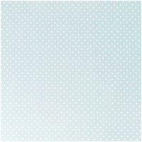 Rico Design Stoff Punkte mint-weiß 50x140cm