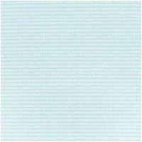 Rico Design Stoff Striche türkis-weiß 50x140cm
