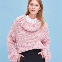 Strickanleitung Pullover aus Mohair Soft