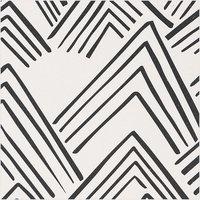Rico Design Druckstoff Canvas Berge grau 140cm